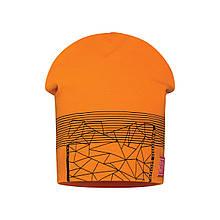 Детская шапка для мальчика BARBARAS Польша CB114 / C Оранжевый весенняя осенняя демисезонная