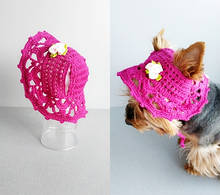 Шапка панамка 11526 для собак мелких пород