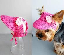 Шапка панамка 4356 для собак мелких пород