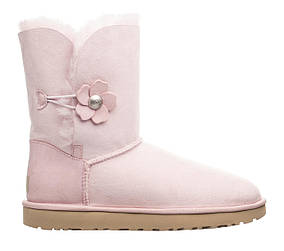 Жіночі угги Ugg W Bailey Button 43 Pink SKL35-238601