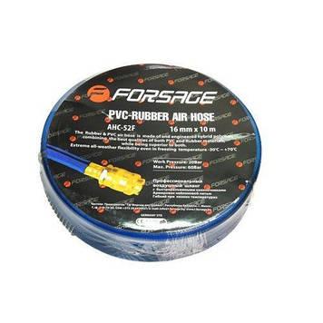 Шланг резиновый армированный с фитингами 10*16мм*15м(для воздуха)
