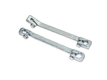Ключ для тормозных трубок с зажимом 7х9мм