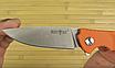 """Нож складной для ежедневного ношения (EDC)  """"Orange"""" для рыбалки и для походно-полевых работ, фото 6"""