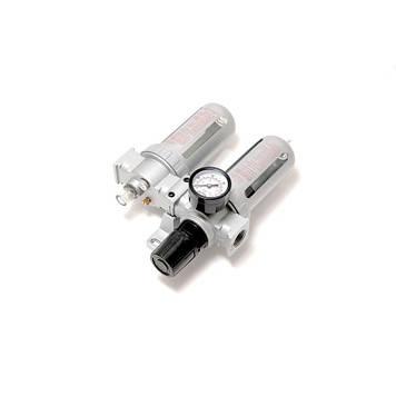 """Блок подготовки воздуха для пневмосистемы 1/2""""(фильтр-регулятор + лубрикатор, диапазон регулировки"""
