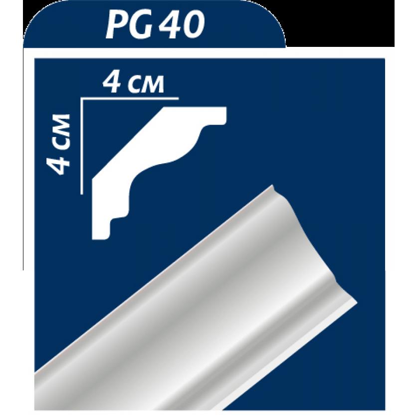 Багет 2м без рисунка PG-40