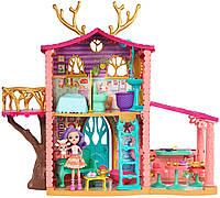 Игровой набор Enchantimals Лесной домик Данессы Оленихи Энчантималс Cozy Deer House FRH50