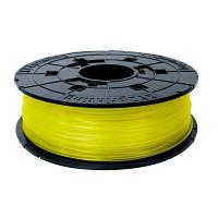Пластик для 3D-принтера XYZprinting PLA 1.75мм/0.6кг Filament, Clear Yellow (RFPLBXEU03B)
