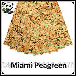 Пробковые панели (обои) Miami Peagreen TM Egen 600*300*3 мм