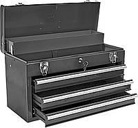 Шкаф для инструмента TOPEX, металлический, 52 x 22 x 30 см, 4 ящика, ключ, 8.2 кг
