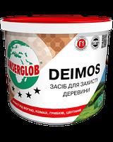 Средство для защиты древесины Deimos зеленый 1кг