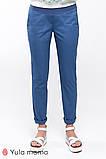 Комфортные брюки для беременных из легкой ткани MELANI TR-20.011 (Размер: S M, L, ХL), фото 3