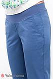 Комфортные брюки для беременных из легкой ткани MELANI TR-20.011 (Размер: S M, L, ХL), фото 4