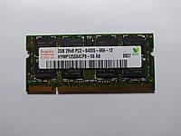Оперативная память для ноутбука SODIMM Hynix DDR2 2Gb 800MHz PC2-6400S (HYMP125S64CP8-S6) Б/У, фото 1