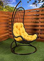 """Подвесное кресло-кокон """"Легато"""" коричневое, фото 1"""