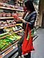 """Женский стильный набор многоразовая защитная Маска + Сумка-Шоппер """"01"""" в расцветках, фото 4"""