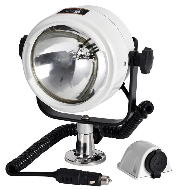 Прожектор для лодки катера OSCULATI  высокой яркости, дальность света до 600 м