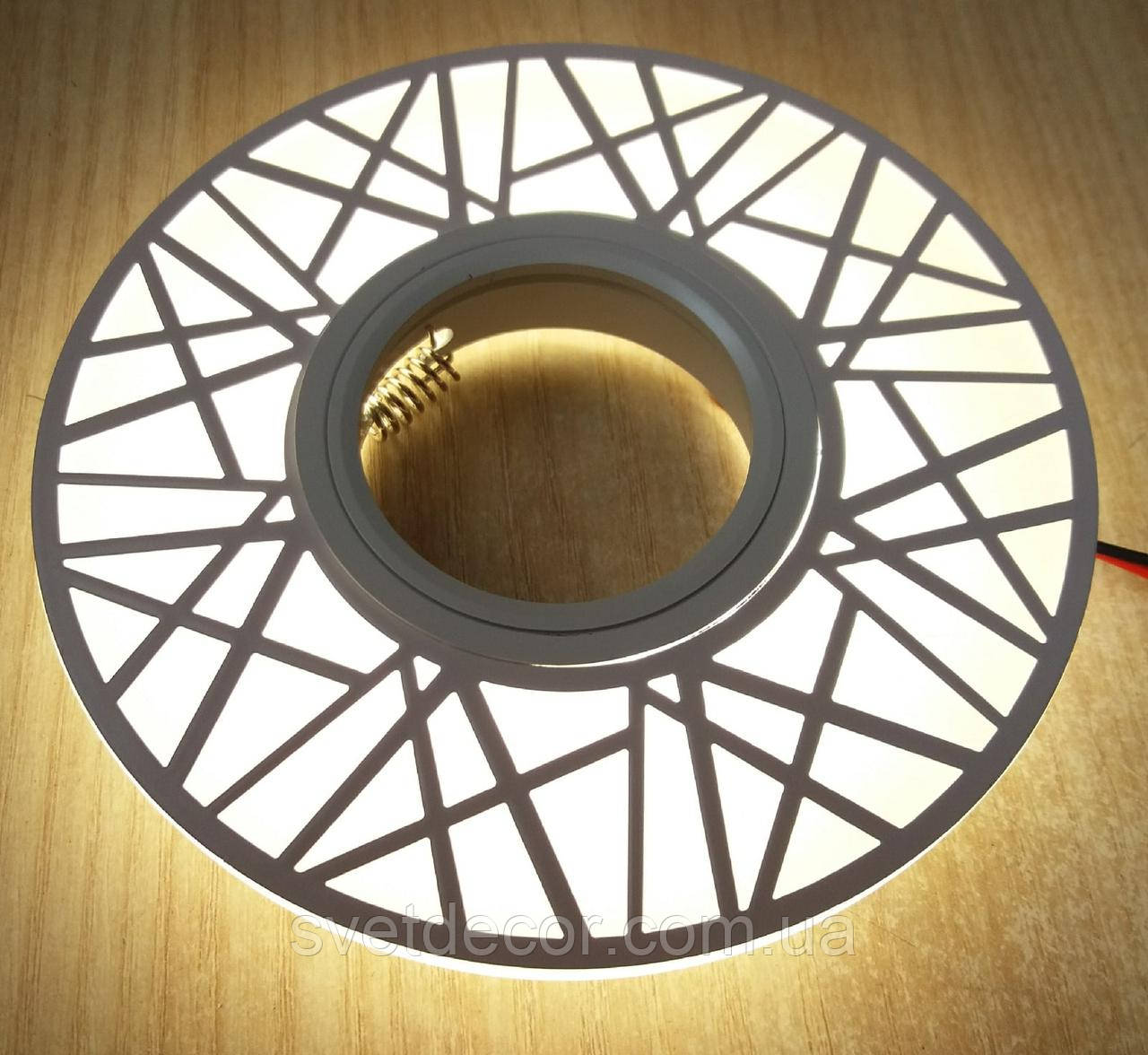 Светильник встраиваемый точечный Feron CD991 с LED подсветкой