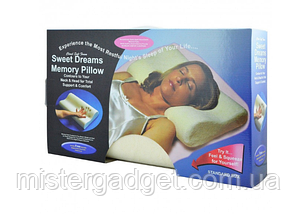 Подушка с памятью Memory Foam Pillow, фото 3