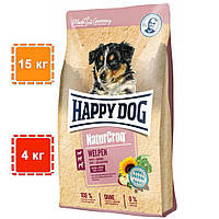 Корм для щенков Happy Dog | сухой корм для щенков всех пород | Natur Croq Naturcroq Welpen | 15 кг | 4 кг