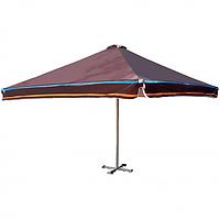 Зонт для летнего кафе и бара 4х4м с лого