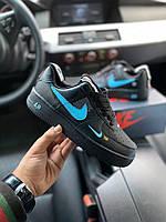 Кроссовки Nike Air Force 1 Black, фото 1