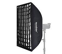 Софтбокс Godox 80х120см SB-FW80120 с сотами (Байонет Bowens), фото 1