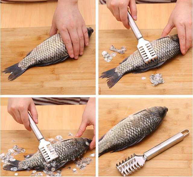 РÑбоÑиÑÑка | Ðож ÑкÑебок Ð´Ð»Ñ ÑиÑÑки ÑÑÐ±Ñ Fish Scales Wiper Cleaning - ÐнÑеÑнеÑ-магазин