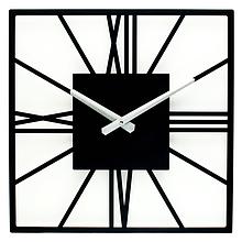 Настенные Часы Glozis New York 35х35 см Черный (B-024)