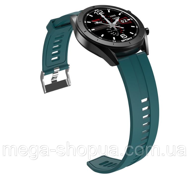 Сенсорные смарт-часы Smart Watch HS99-DH Green, спорт часы, умные часы, наручные часы, фитнес браслет