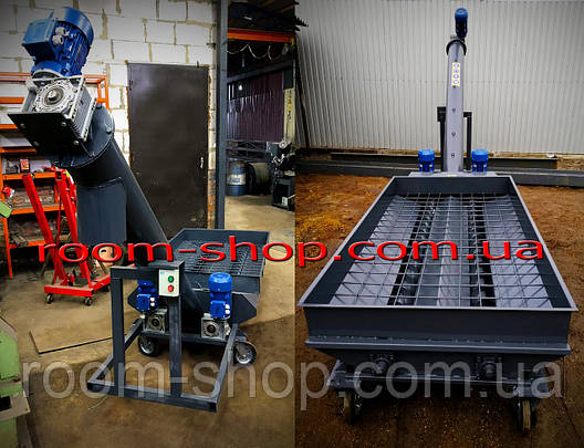 Разгрузчики вагонов зерна (Хоппер) на 30 тонн в час, фото 2