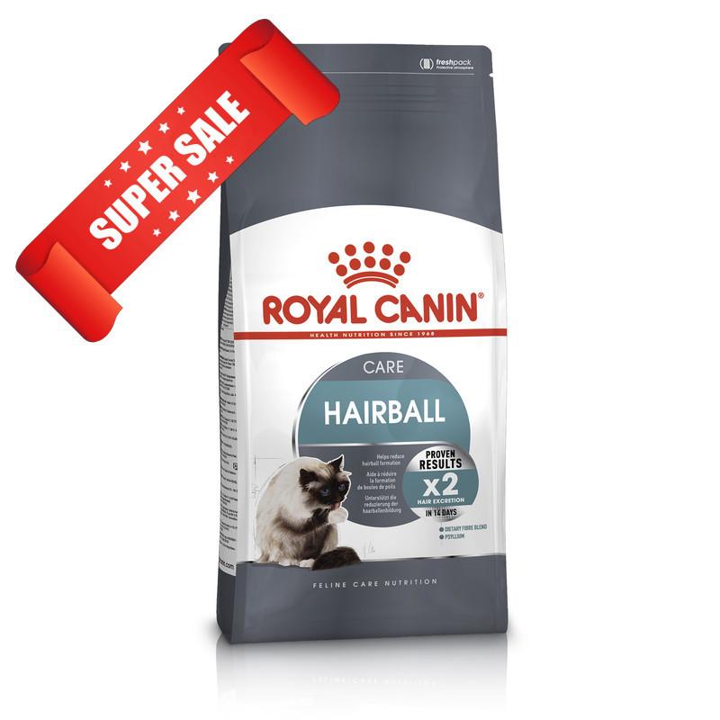 Сухой корм для котов Royal Canin Hairball Care 10 кг - 32%