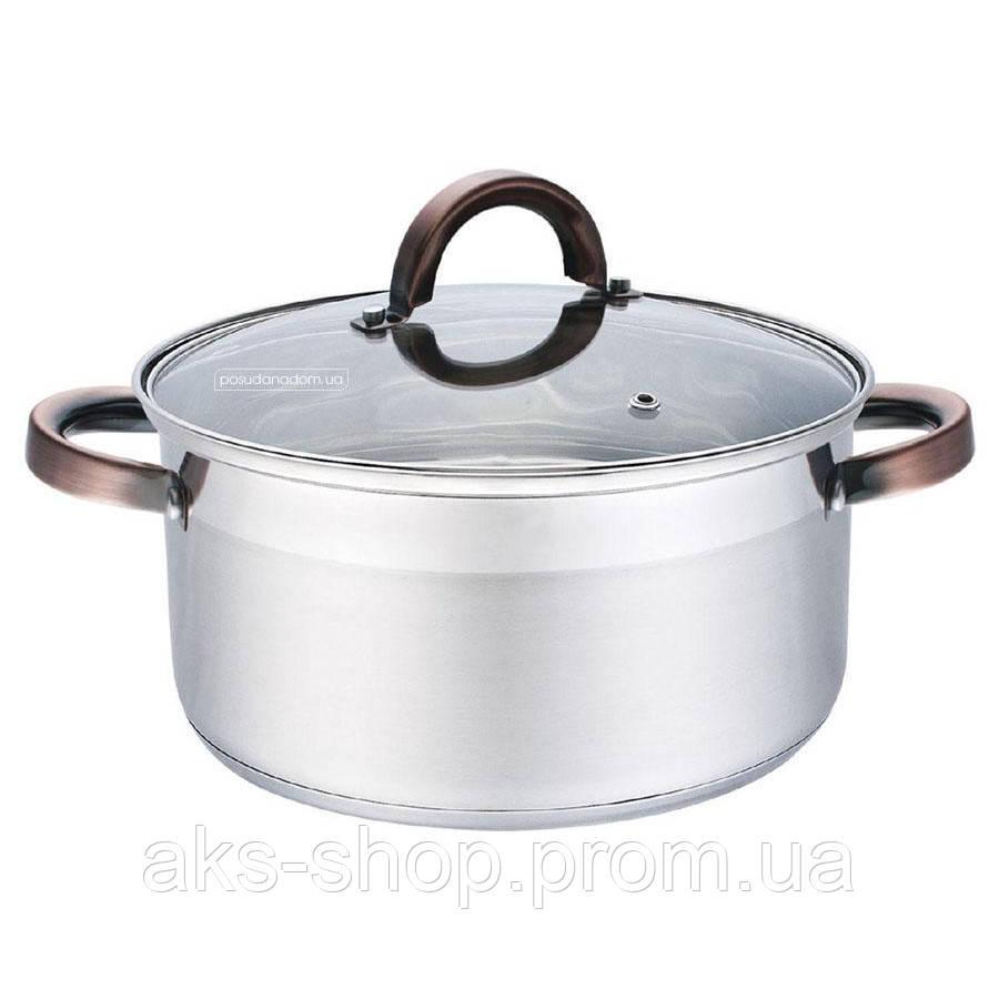 Кастрюля с крышкой из нержавеющей стали Maestro MR-3518-32 (12.5 л)   набор посуды   кастрюли Маэстро, Маестро