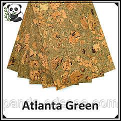 Коркові панелі (шпалери) Atlanta Green TM Egen 600*300*3 мм