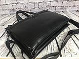 Мужская сумка-портфель Polo под формат А4. Сумка для документов. КС61, фото 6
