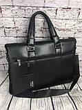 Мужская сумка-портфель Polo под формат А4  КС62, фото 2
