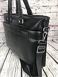 Мужская сумка-портфель Polo под формат А4  КС62, фото 4