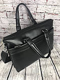 Мужская сумка-портфель Polo под формат А4  КС62, фото 6