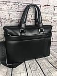 Мужская сумка-портфель Polo под формат А4  КС62, фото 7