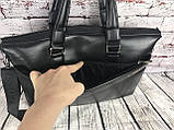 Мужская сумка-портфель Polo под формат А4  КС62, фото 9