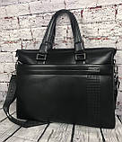 Мужская сумка-портфель Polo под формат А4  КС62, фото 10