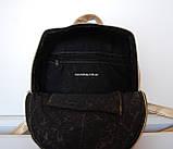 Кожаный Мини рюкзак Moschino. Хит сезона! Выбор. Кожаная Женская сумка. РД002, фото 3