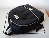 Кожаный Мини рюкзак Moschino. Хит сезона! Выбор. Кожаная Женская сумка. РД002, фото 6