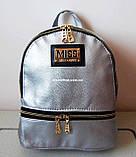 Кожаный Мини рюкзак Moschino. Хит сезона! Выбор. Кожаная Женская сумка. РД002, фото 7