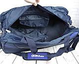 Большая дорожная сумка Adidas. Спортивная сумка с отделом для обуви КСС30, фото 2