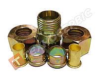 Соединитель прямой тормозной трубки разборной (фурнитура) (фитинг) Ø10мм (7 наименований)