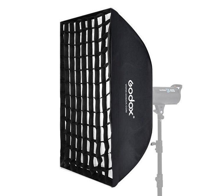Софтбокс Godox 60х90см SB-FW6090 с сотами (Байонет Bowens)