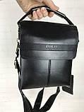 Небольшая мужская сумка - планшет Polo с ручкой. Небольшая сумка. Размер 22*17 см КС34, фото 7