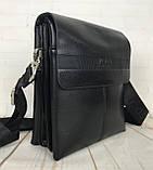 Небольшая мужская сумка - планшет Polo с ручкой. Небольшая сумка. Размер 22*17 см КС34, фото 9