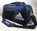 Качественная дорожная, спортивная сумка Adidas с отделом для обуви КСС58-2, фото 2