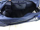 Качественная дорожная, спортивная сумка Adidas с отделом для обуви КСС58-2, фото 3
